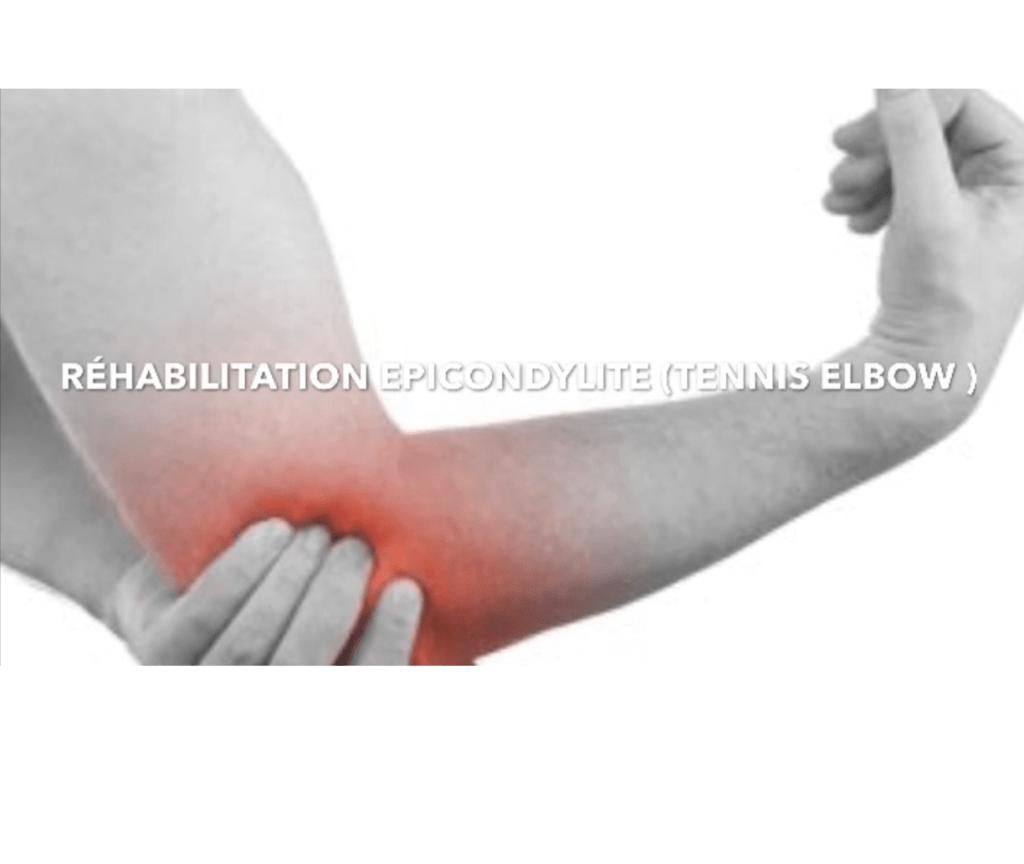 Comment soigner un Tennis Elbow ? La réhabilitation epicondylite